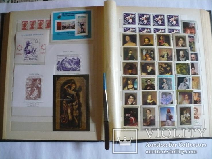 Альбом с марками искусство стран мира MNH(**), фото №8