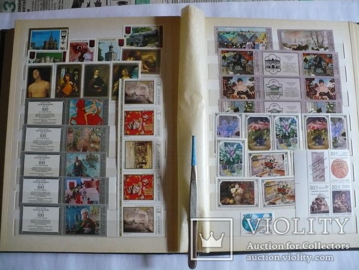 Альбом с марками искусство стран мира MNH(**), фото №10