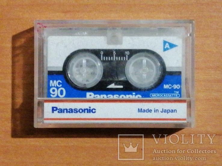 Микрокассета Panasonic MC90 для диктофонов, автоответчиков., фото №2