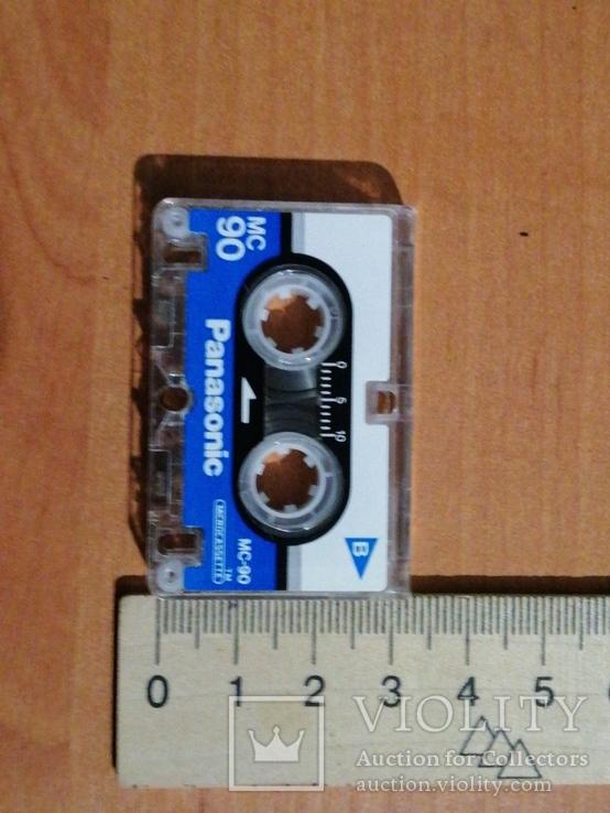 Микрокассета Panasonic MC90 для диктофонов, автоответчиков., фото №5