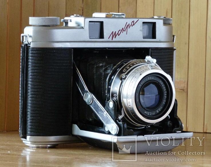 Фотоаппарат «Искра» 1960 г. выпуска