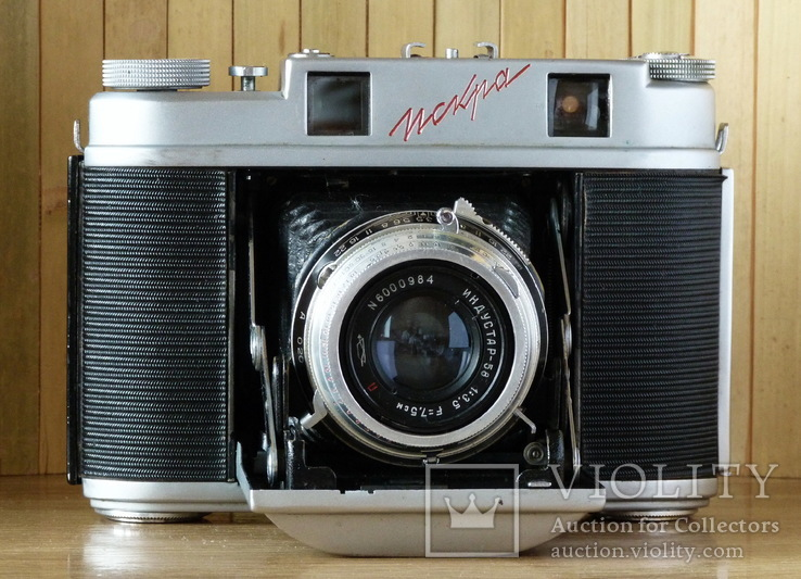 Фотоаппарат «Искра» 1960 г. выпуска, фото №3