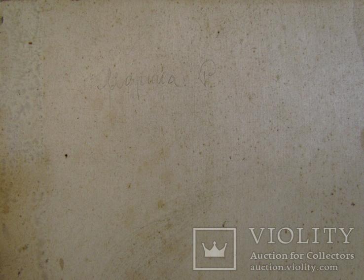 "С,А,Григорьев ""Марина"" 1976 г.картон.масло 49х33.5 см., фото №8"