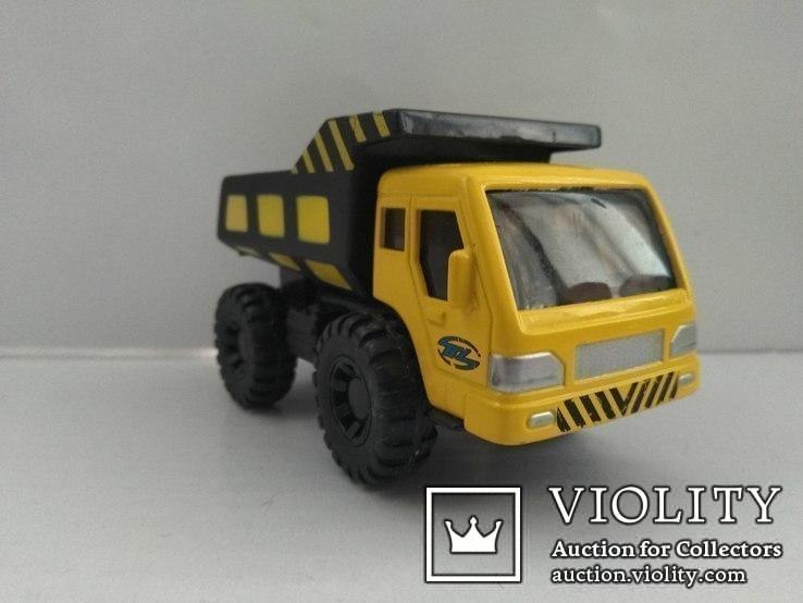 Maisto Builder Zone Dump Truck, фото №5