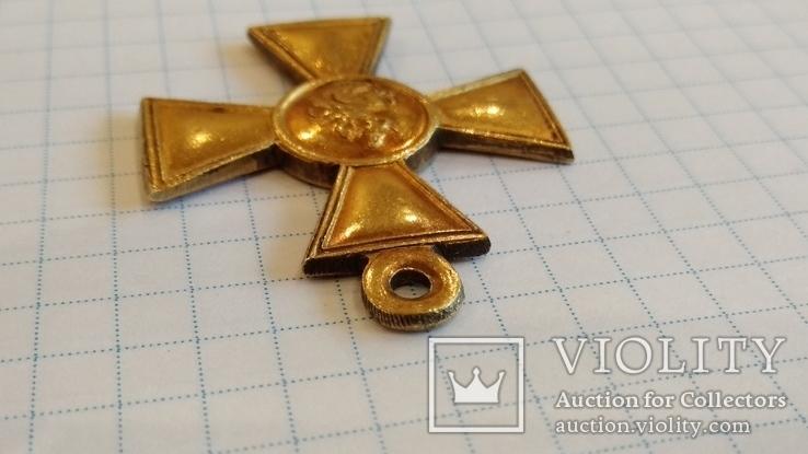 Георгиевский крест 1 степени №31300 см.видеообзор, фото №12