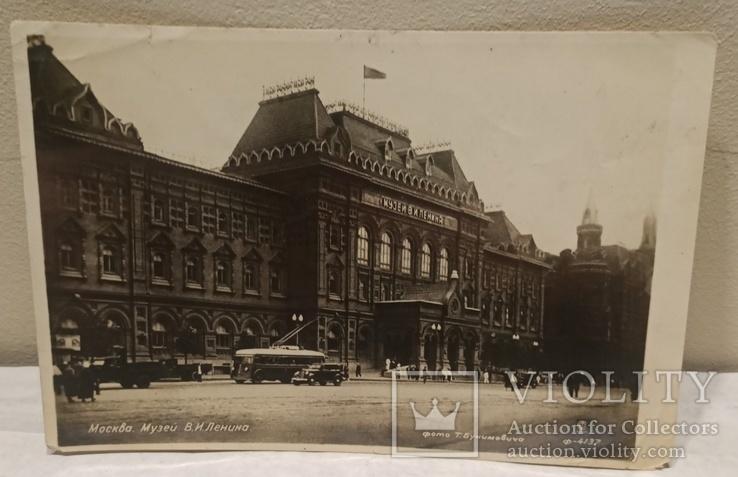 Москва. Музей В. Ленина. 1938?, фото №2