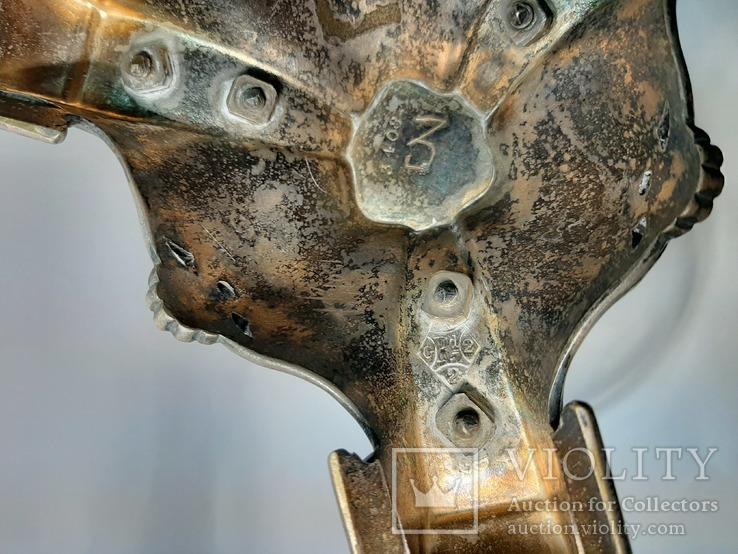 Старинная Фруктовница Конфетница ( Детализация Пегасов , Клеймо ), фото №11