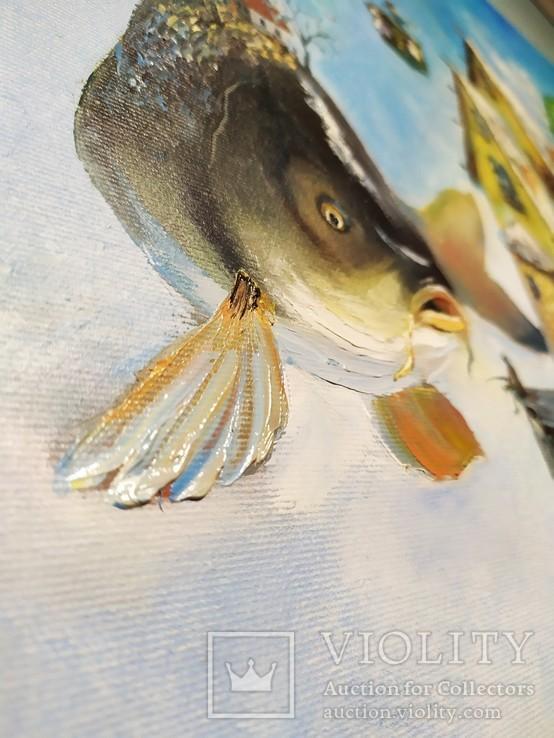 Картина. Кому какая рыба!?, фото №3