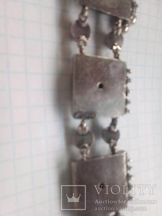 Ожерелье серебро, фото №5