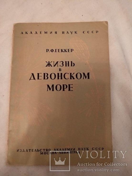 1935 Жизнь в Девонской море, фото №3