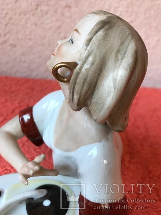 Валлендорф. Девушка с радиолой., фото №4
