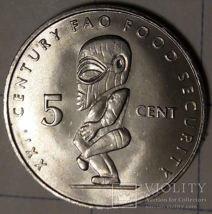Остров Кука 5 центов 2000
