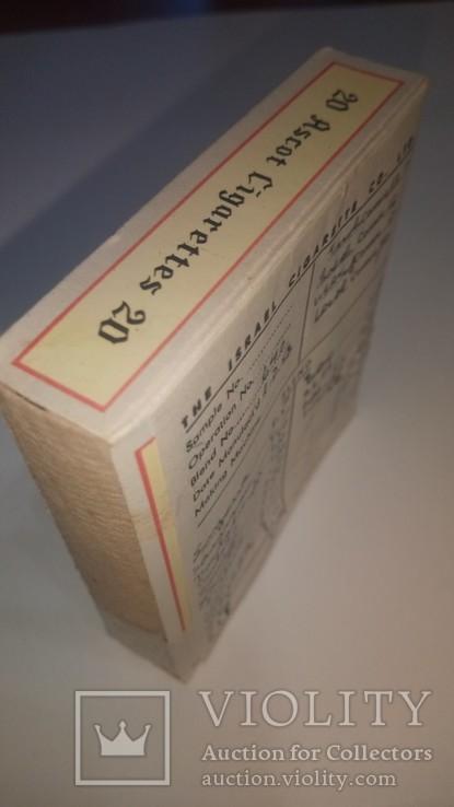 Сигареты 1958 Ascot Тель-Авив Полная запечатанная пачка Сертификат состава смеси, фото №3