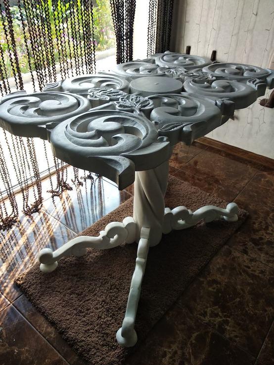 Эксклюзивный стол ручной работы, фото №4