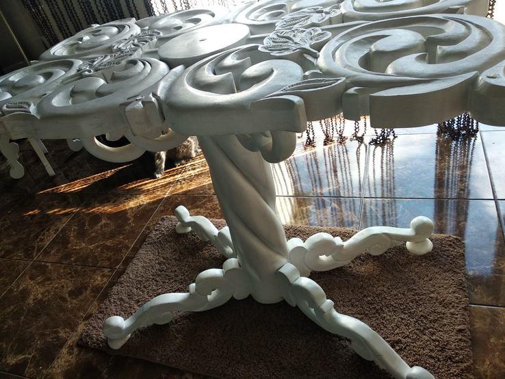 Эксклюзивный стол ручной работы, фото №5