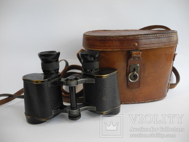 Бинокль zeiss karoly gyor M 9/13 Z Feldstecher ( Англия 1914 год )