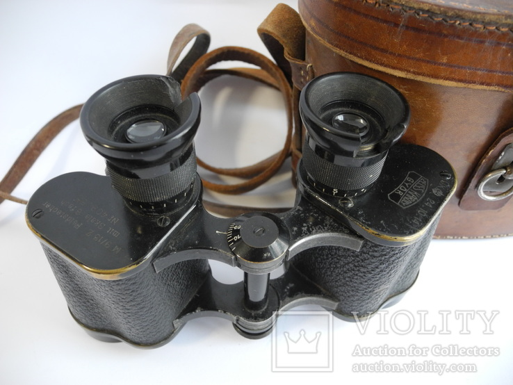 Бинокль zeiss karoly gyor M 9/13 Z Feldstecher ( Англия 1914 год ), фото №3