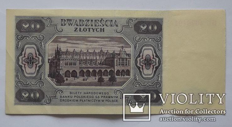 20 злотых 1948 г., фото №3