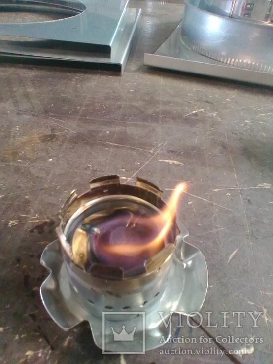 Мини горелка походная (нерж. сталь), фото №10