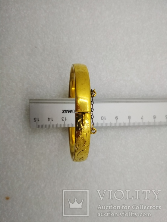 Браслет позолота Rolled Gold, фото №4