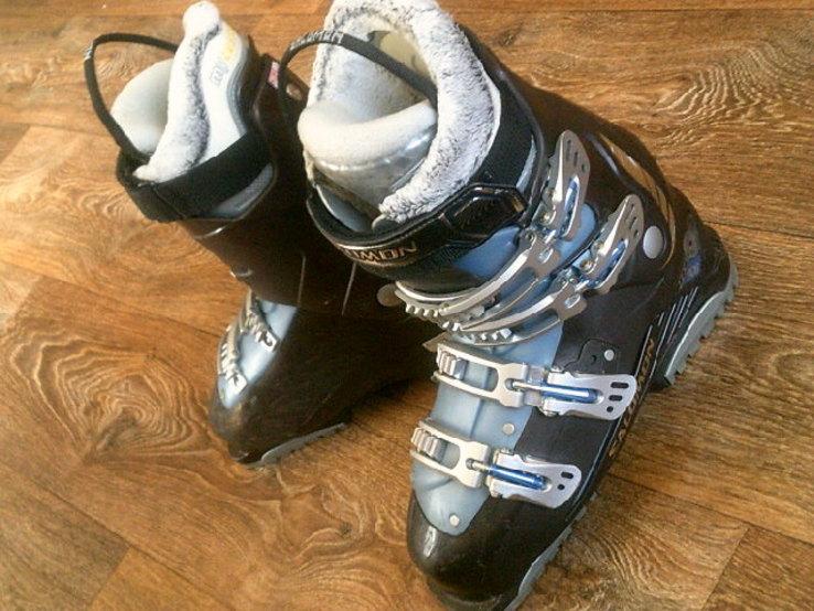 Salomon - лыжные  ботинки разм.41, фото №3
