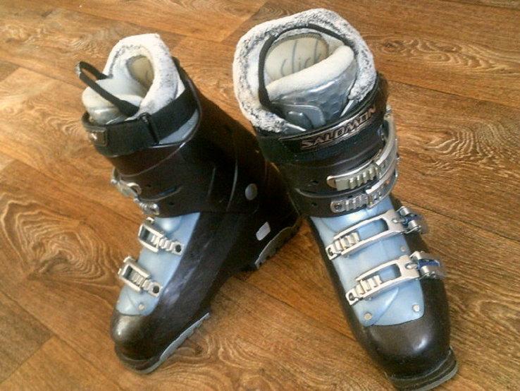 Salomon - лыжные  ботинки разм.41, фото №11