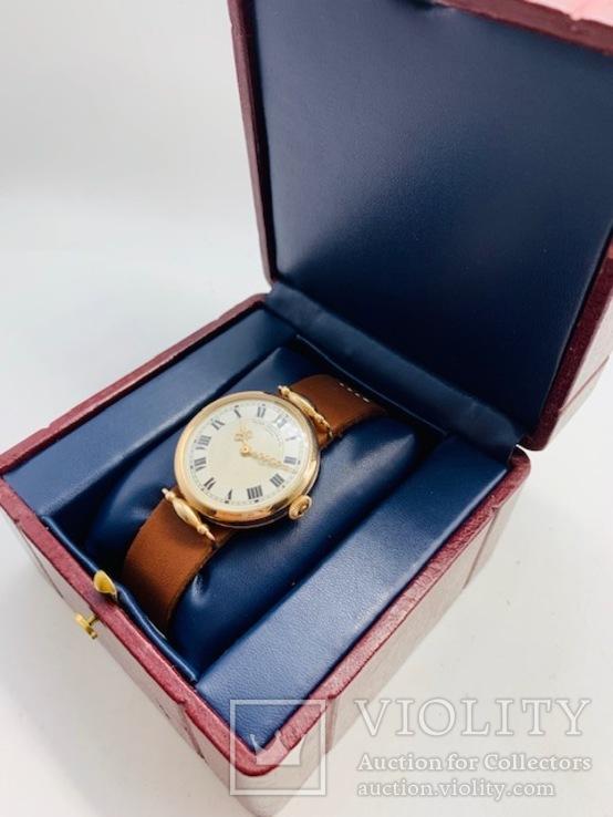 Наручные Patek Philippe & Co Geneva. 585 золото., фото №4