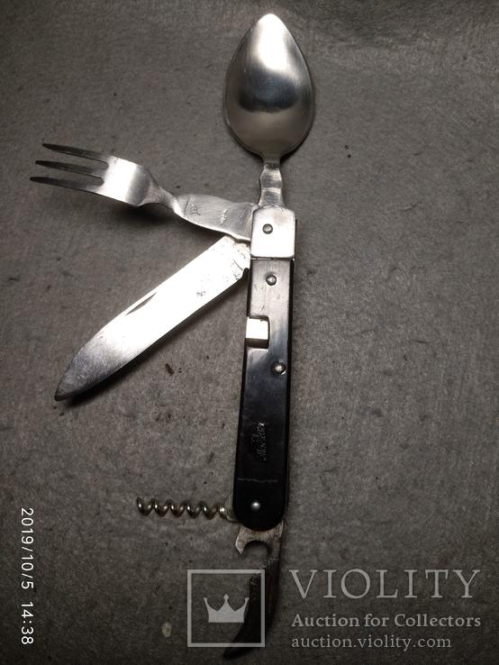 Складной нож ссср. Разборной, клеймо Москва, фото №4