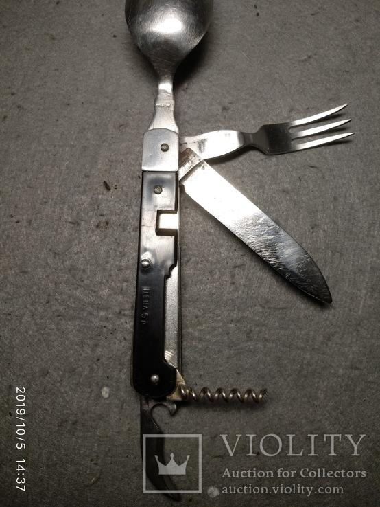 Складной нож ссср. Разборной, клеймо Москва, фото №5