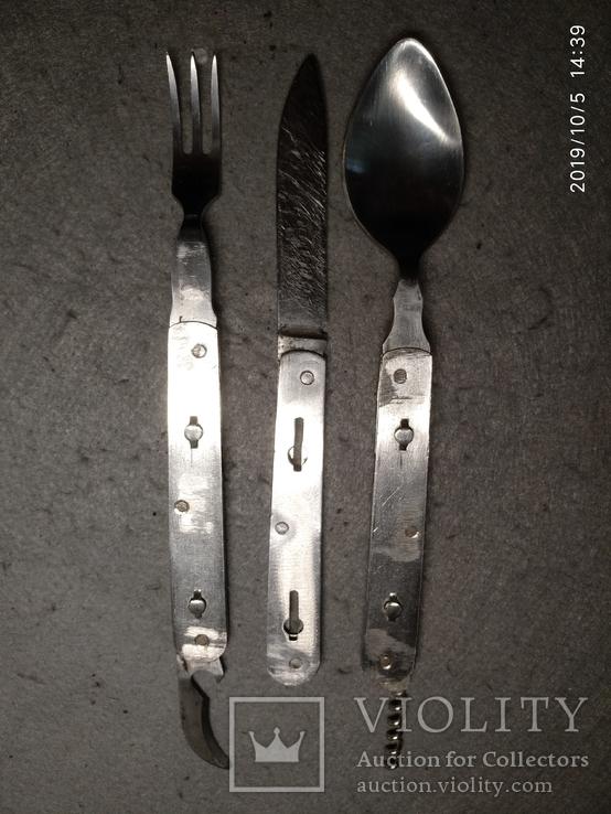 Складной нож ссср. Разборной, клеймо Москва, фото №8