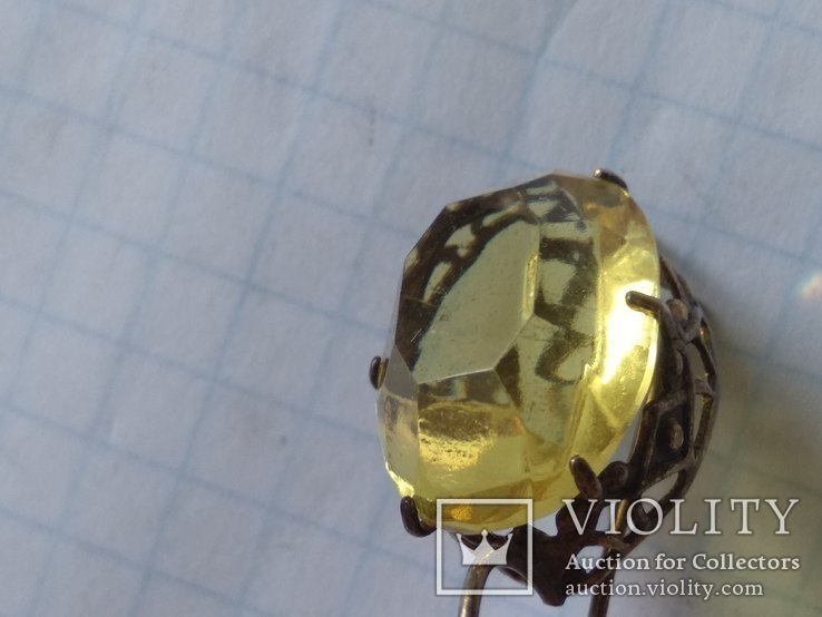 Набор серебро, кольцо и серьги, 875, фото №11