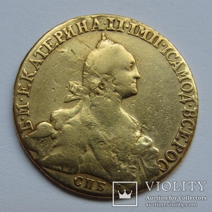 10 рублей 1769 г. Екатерина II, фото №6