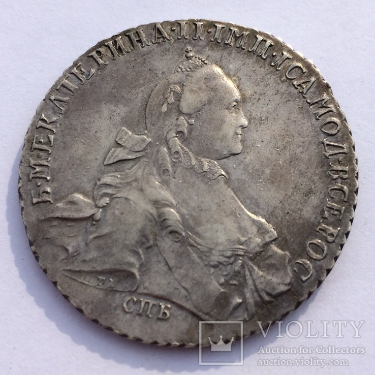 Рубль 1765 спб тi-яi