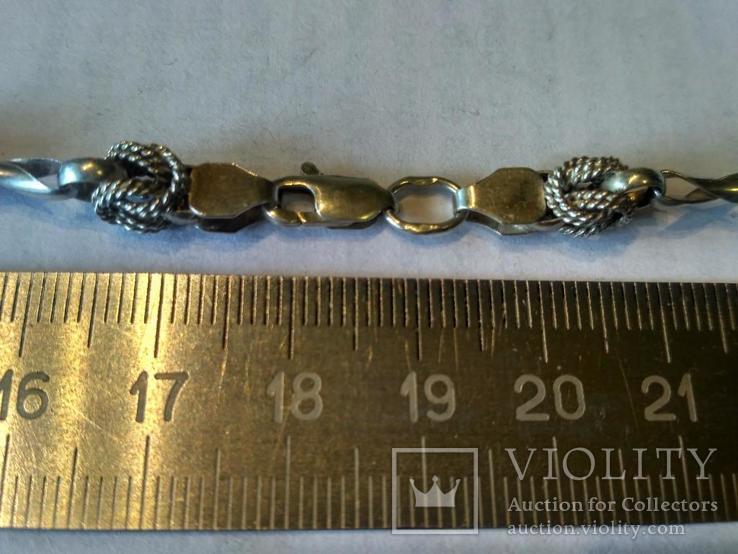 Цепочка 1 серебро, фото №5