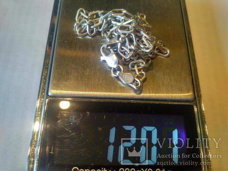 Цепочка 11 серебро, фото №6