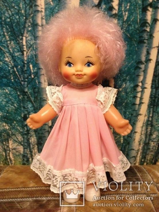 Кукла СССР Зоя (ДЗИ) клеймо, состояние новой, родной аутфит, фото №3