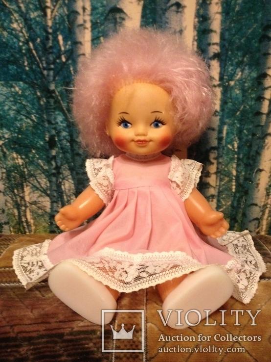Кукла СССР Зоя (ДЗИ) клеймо, состояние новой, родной аутфит, фото №6