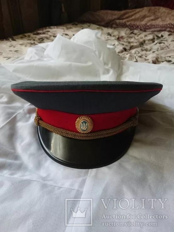 Фуражка младшего офицерского состава МЛП УССР, фото №2