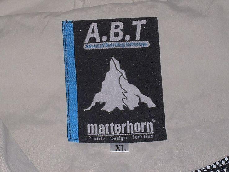 Легкая швейцарская куртка фирма matterhorn, фото №5
