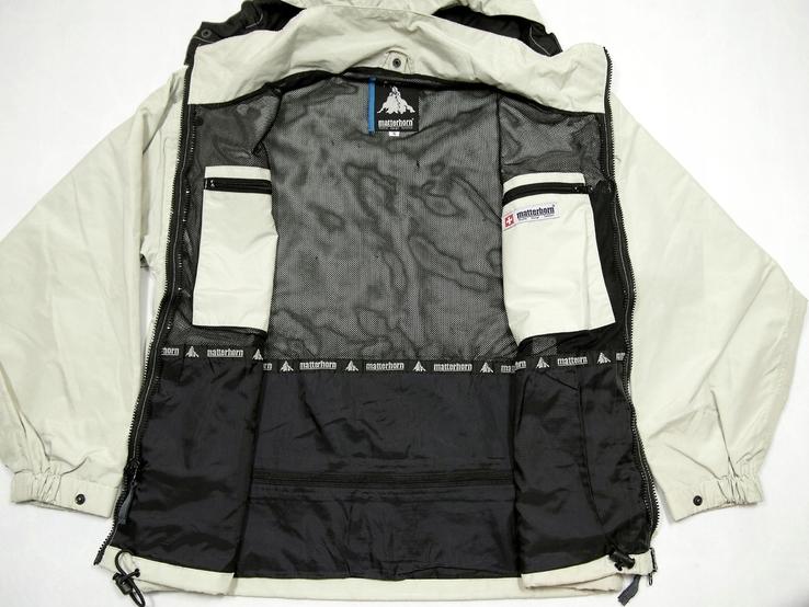 Легкая швейцарская куртка фирма matterhorn, фото №6
