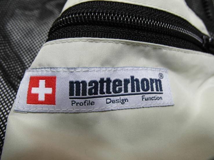 Легкая швейцарская куртка фирма matterhorn, фото №10