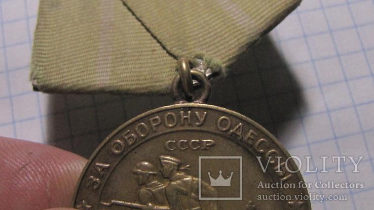 Медаль-За оборону Одессы., фото №4
