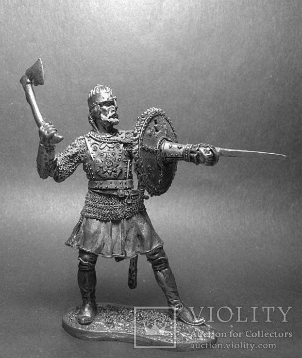 Русь. Воин-дружинник с тарчем.13 век, фото №2