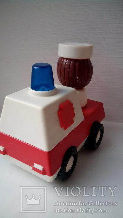 Город пробок скорая помощь игрушка редкость СССР, фото №3