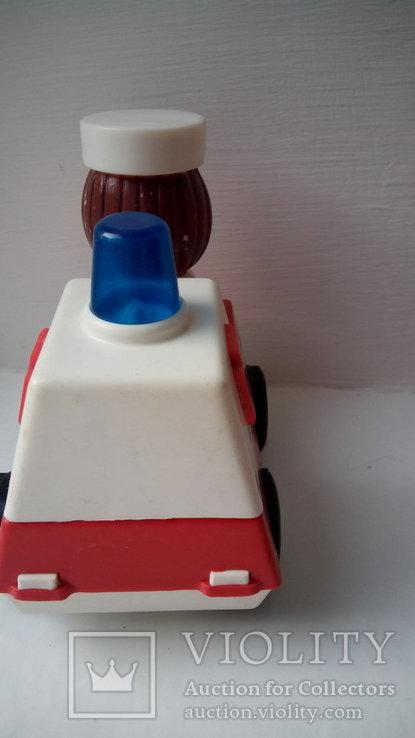 Город пробок скорая помощь игрушка редкость СССР, фото №4