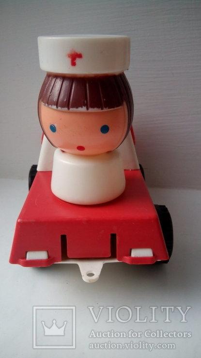 Город пробок скорая помощь игрушка редкость СССР, фото №8