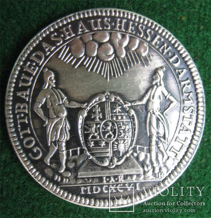 1696 год, Европа. Копия., фото №6