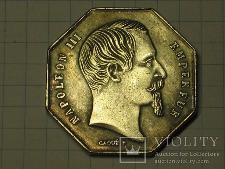 Монета Франция тип 6 копия, фото №3
