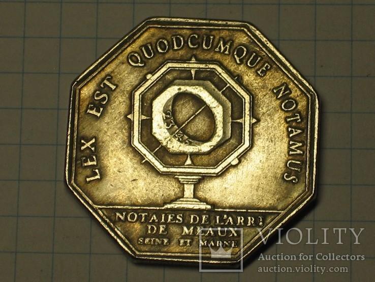 Монета Франция тип 6 копия, фото №2