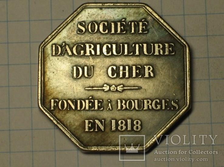 Монета Франция тип 3 копия, фото №3